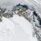 Den äldsta isen på Arktis smälter